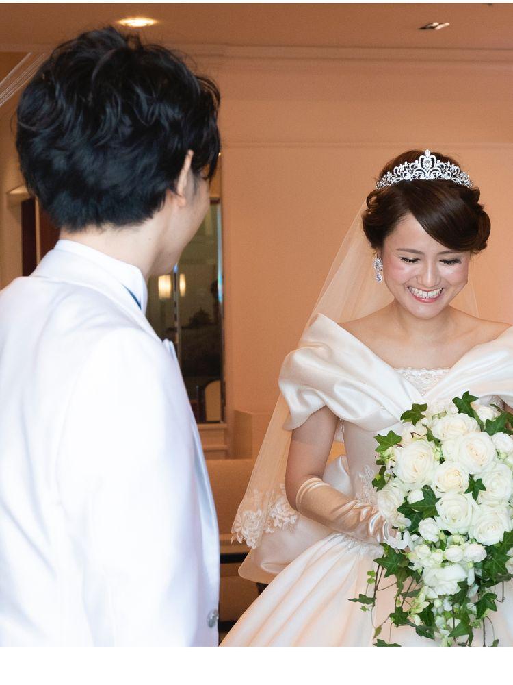 【ウェスティンホテル東京】岡本さんご夫妻