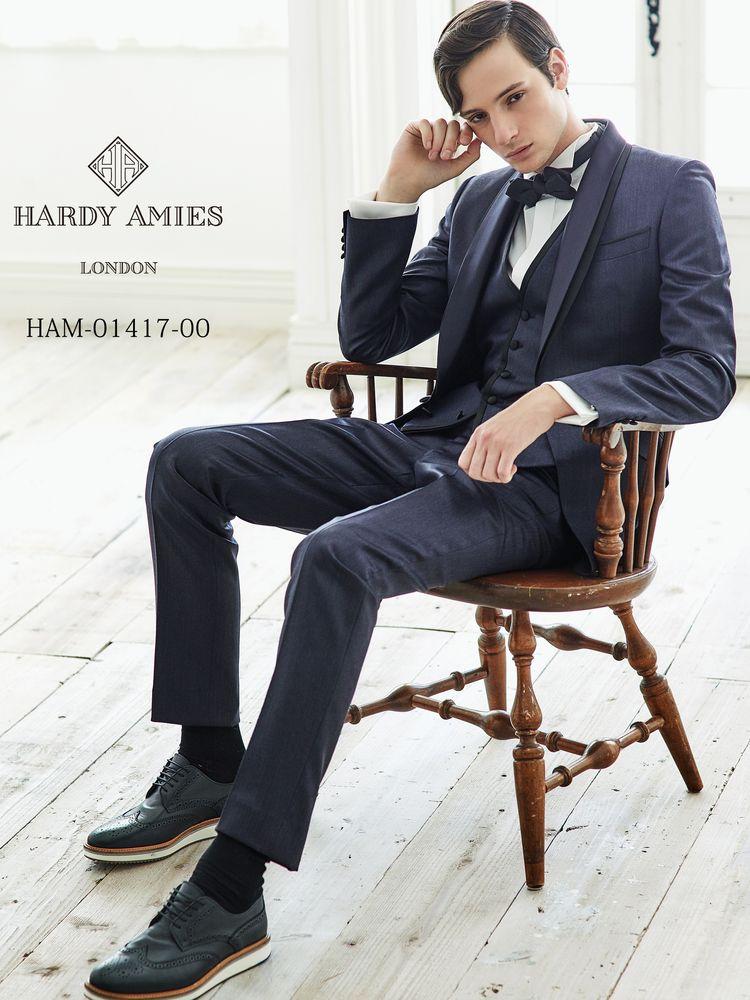6b8153cd53d58 メンズタキシード|HARDY AMIES (ハーディエイミス)|ウェディングドレスの口コミサイト ウエディングパークドレス