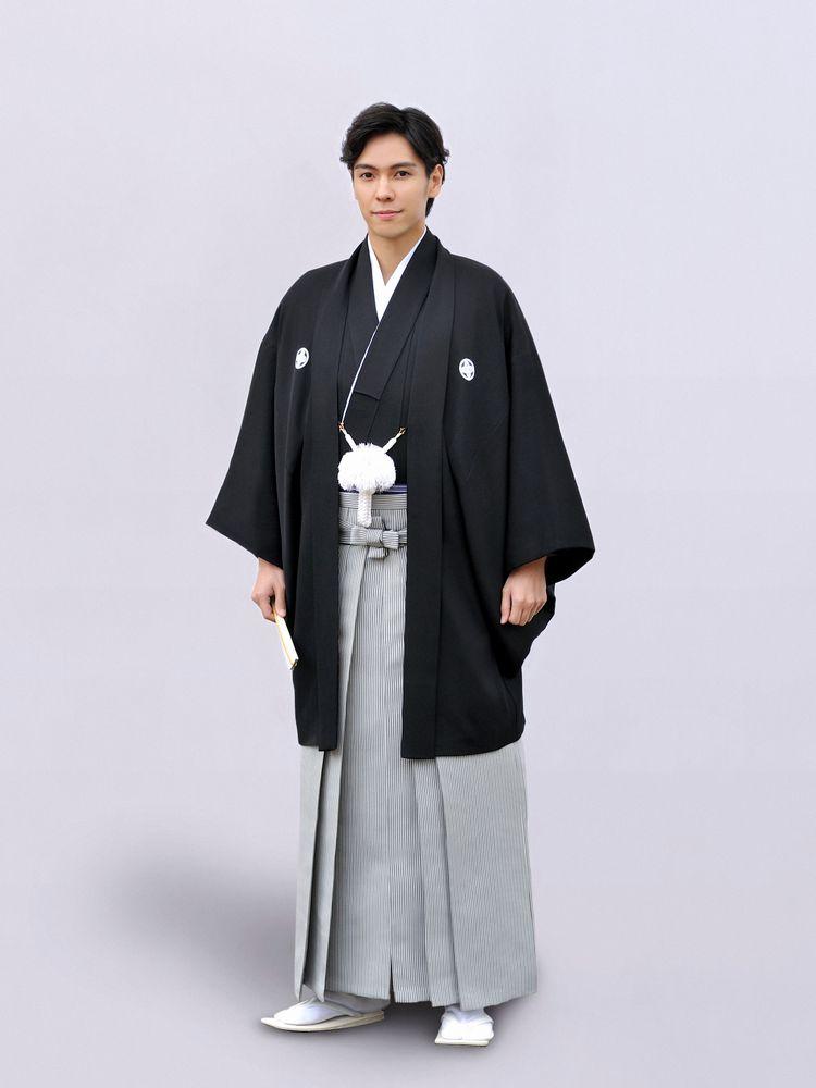 黒曜紋付羽織袴/こくようもんつきはおりはかま