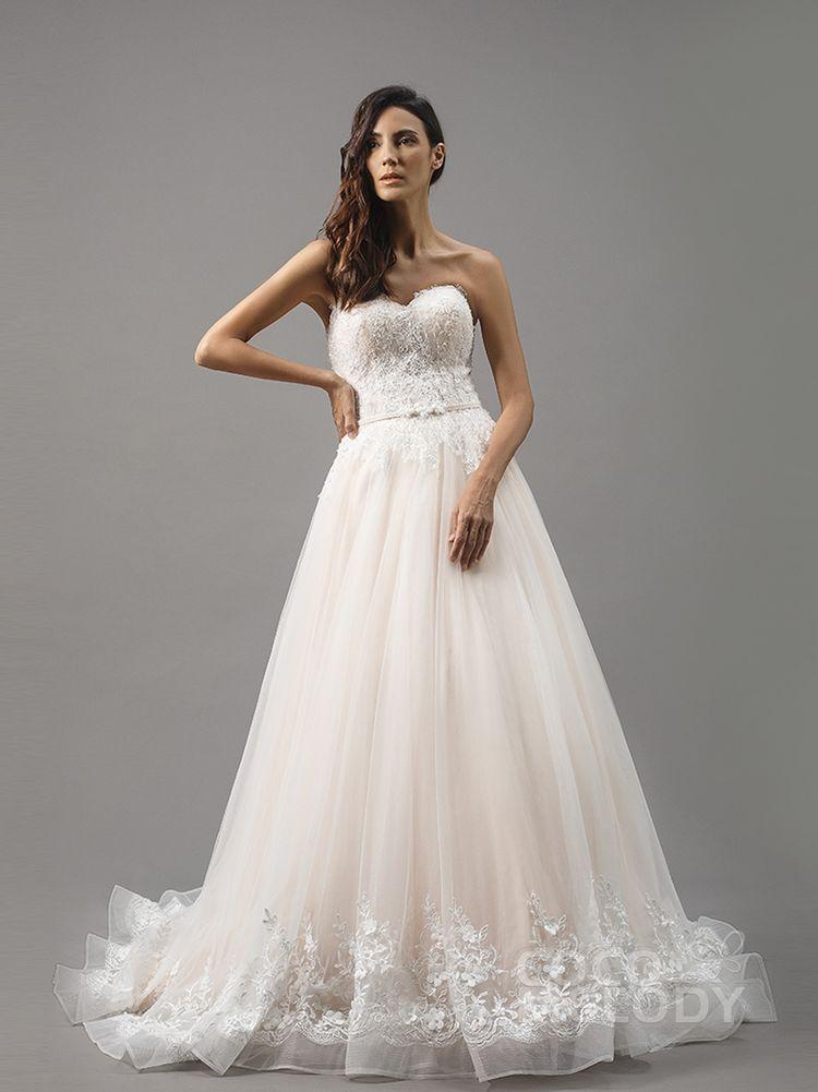 e796d1afa1d24 LD5056 COCOMELODY(ココメロディ) ウェディングドレスの口コミサイト ウエディングパークドレス