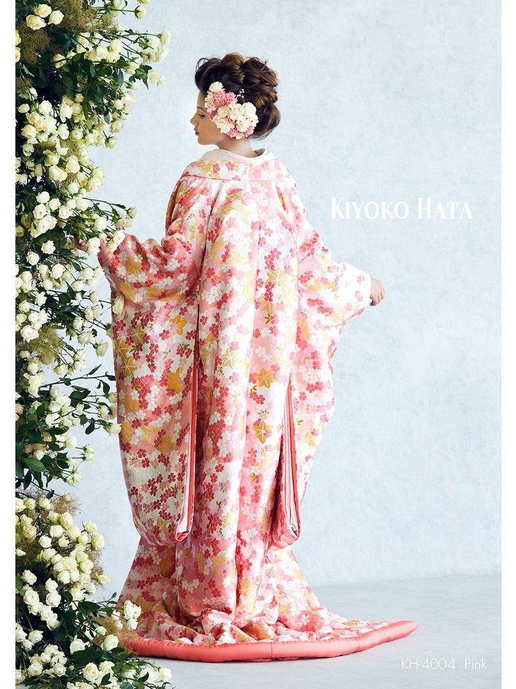 色打掛 桜と紅葉