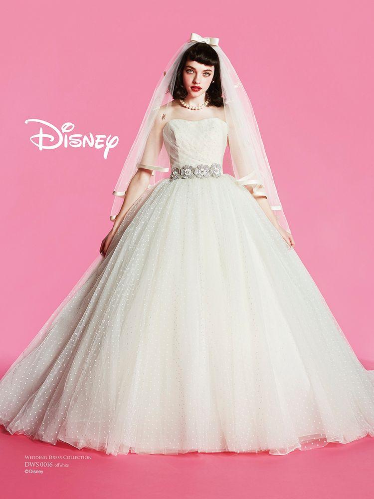 DWS0016 ミニー ウェディングドレス
