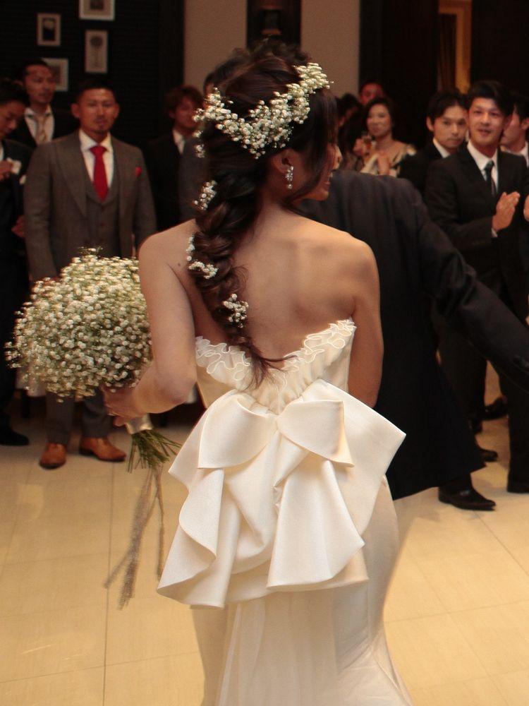 世界で一着のドレス(青山迎賓館)