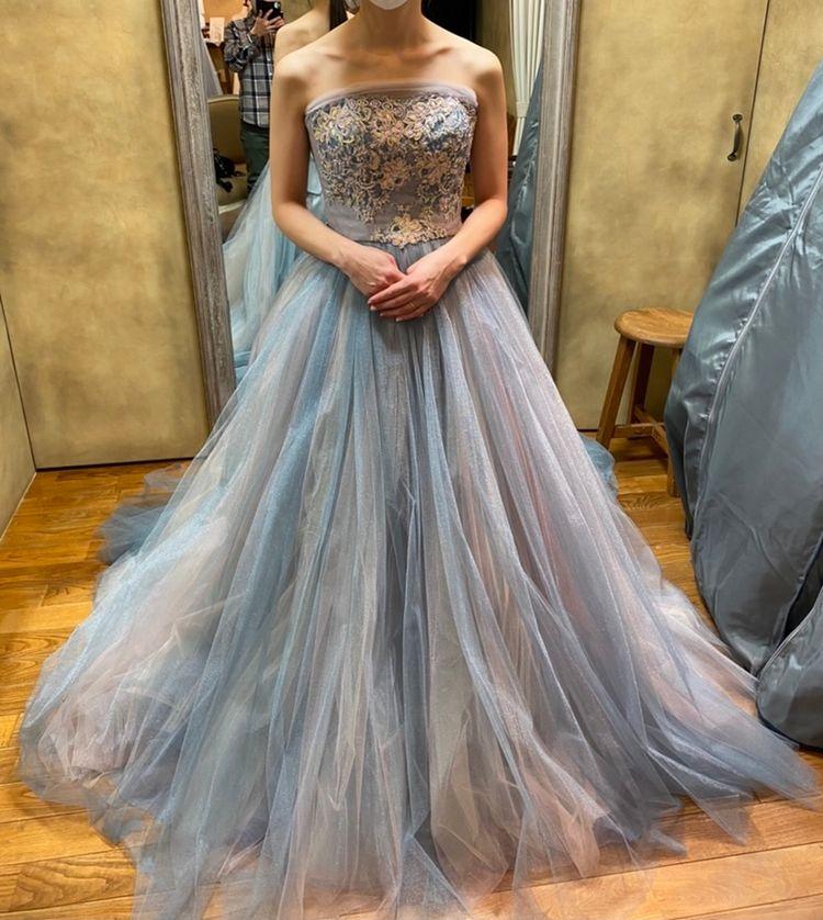ボリューム感のある素敵なドレス