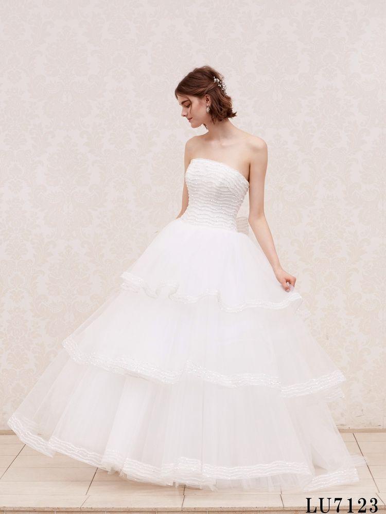 <LUISA>大人可愛いボリュームドレス!(LU7123)