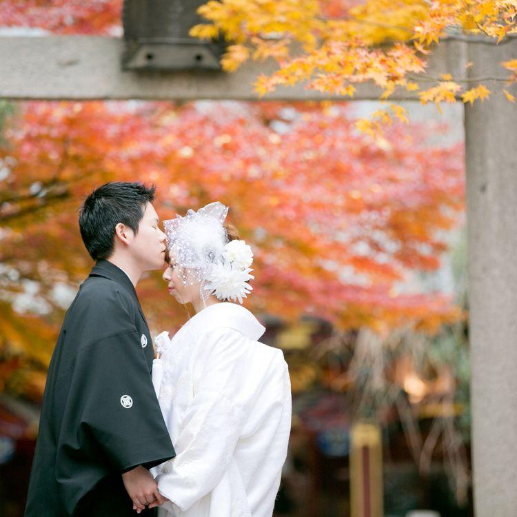 《人気☆》紅葉シーズンのご予約残り僅か!和装ロケフォトプラン
