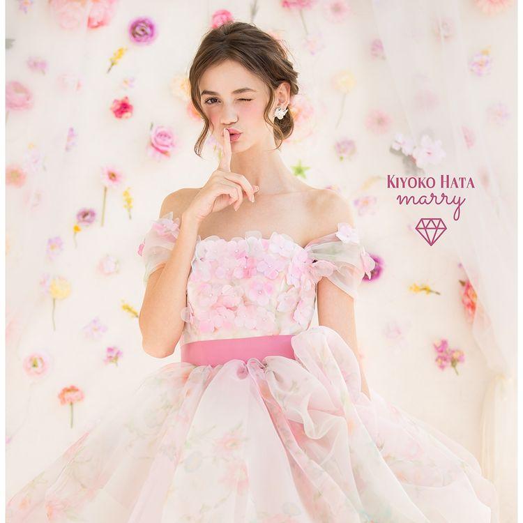 KIYOKO HATA×marry 「お気に入りの柄ドレス」