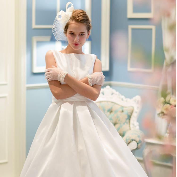 女子向けwebメディア4MEEE様とのコラボドレスも入荷しました!!