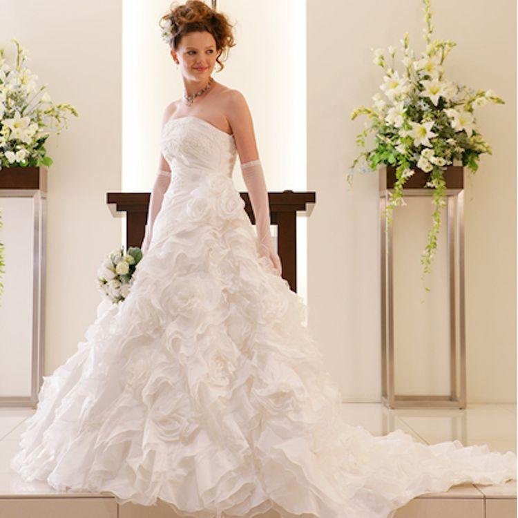 300店以上のドレスから、お気に入りの1着に出会えるはずです。