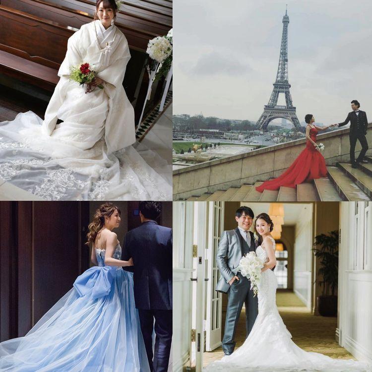 たくさんの花嫁さまを笑顔にしてきたレイコ・森。 「一番の宝物は、挙式や披露宴が終わっていただくお写真やお手紙。 お手紙を見ていると、ウェディングドレスを作る過程そのものを楽しんだことを思い出して、お写真からは、挙式当日、幸せいっぱいであったことを想像できるの、こちらまで幸せいっぱいの気持ちになるわ」