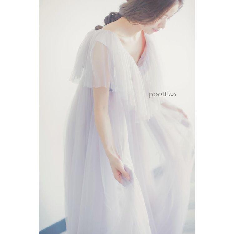 《ポエティカ》 兵庫県芦屋市芦屋川のほとりに佇むドレスショップPoetika。 このたびご縁があり、aedamの衣装ラインナップに加わることになりました! Poetikaのコンセプトの「詩のように趣のあるドレスを美しい花嫁へ」という想いに賛同し、素敵なドレスをセレクト致しました。