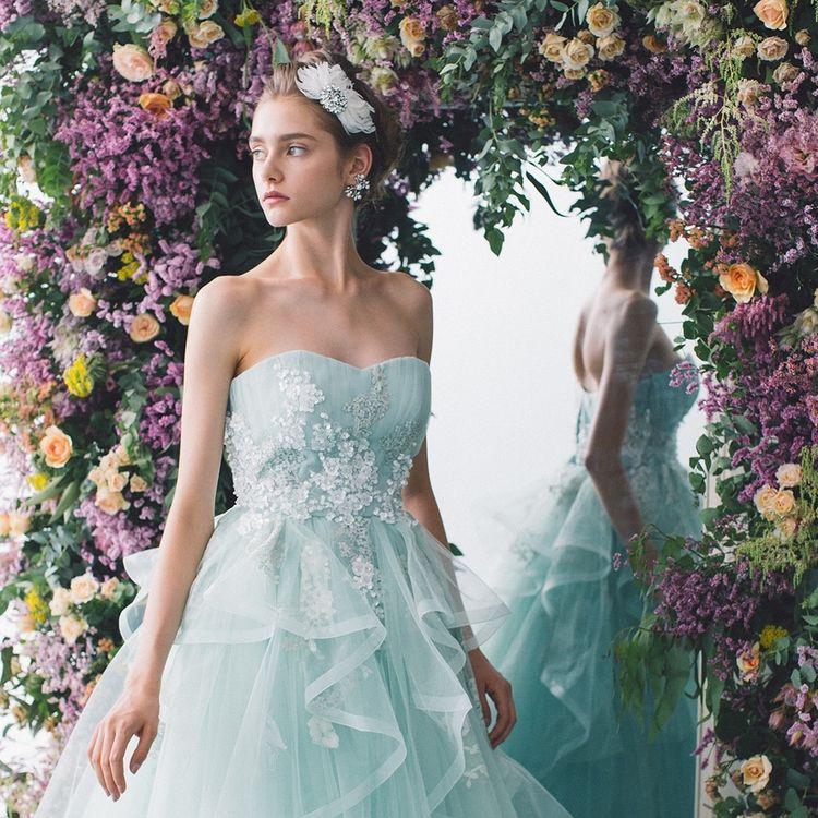 ~COLOR DRESS~  好きだった色、思い出の花の色 様々な思いによって選ばれるカラードレス