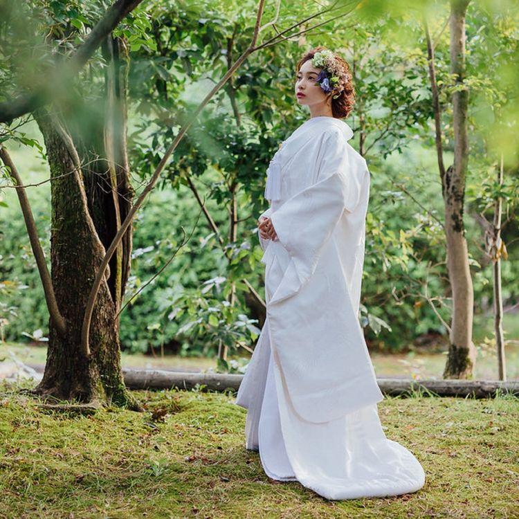 """◆千羽鶴 銀縫入り◆ 鶴は古くは「たづ」とよばれ神鳥と考えられてきました。純白の羽毛と飛ぶ姿の美しさ、高貴で誇り高く見える立ち姿など文様としても長く親しまれ、千羽もの鶴は""""良いことが起こる前ぶれ""""と言われています。"""
