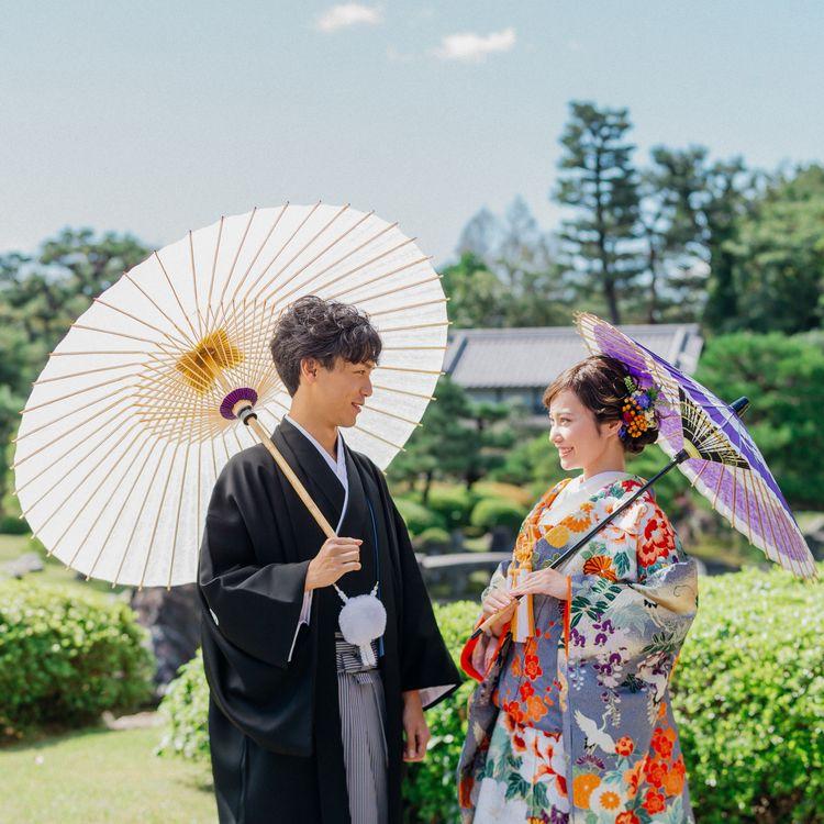 フォトウエディングプラン充実しております!世界遺産でも撮影ができる京都の老舗呉服店TAGAYA BRIDAL。 専属スタイリスト、プロヘアメイク、ウェディング専門カメラマンが上質なお写真をお届けいたします。 世界遺産二条城をはじめ、東京・関西の由緒あるロケーションで四季折々の風情を楽しみつつ大切な晴れの日をお過ごしくださいませ!